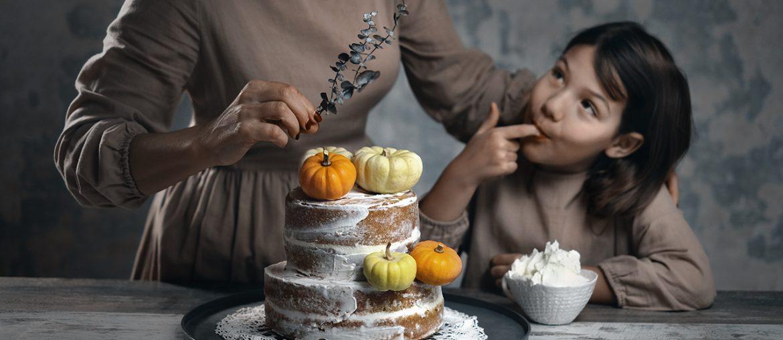 Nude cake di Halloween